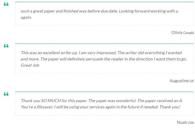 Standard paper writing page layout